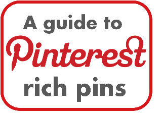 Pinterest Rich pins a guide by Vivienne Neale