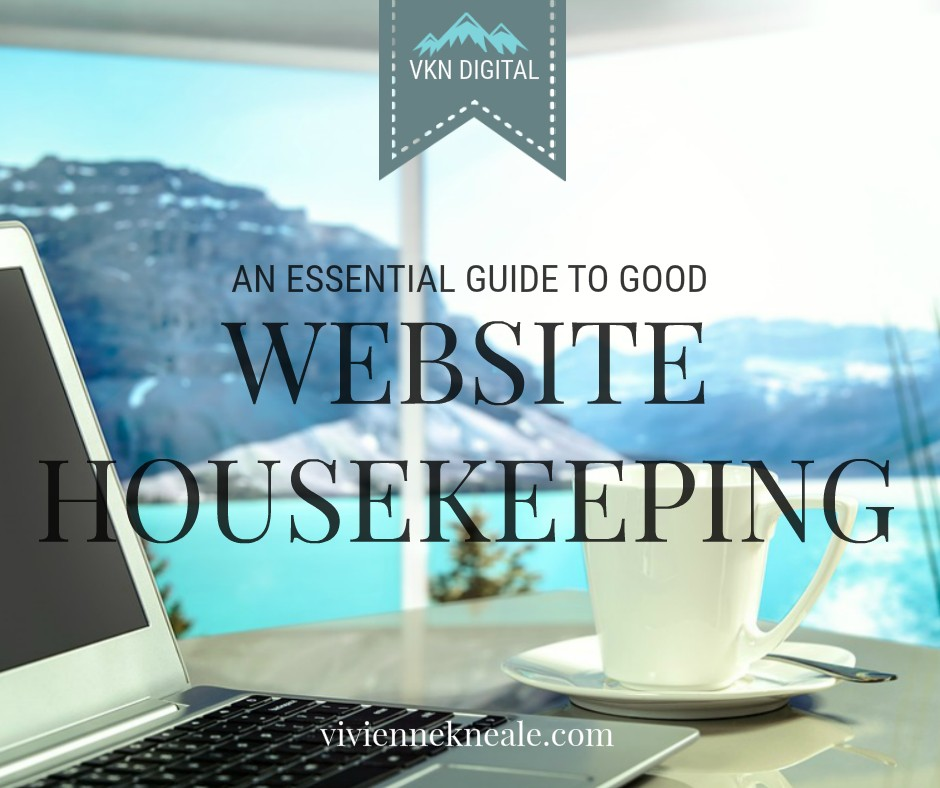 good website housekeeping, vkn digital
