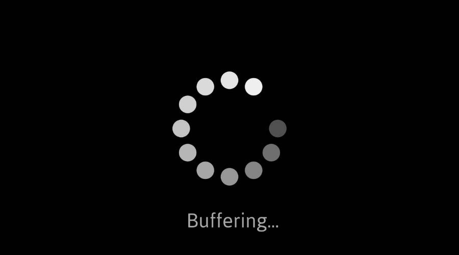 buffering screen