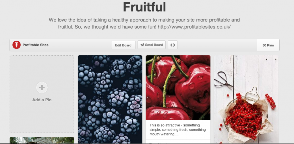 Pinterest tips to make your boards fruitful