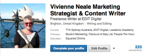 LinkedIn Groups are such valuable resources says Vivienne Neale