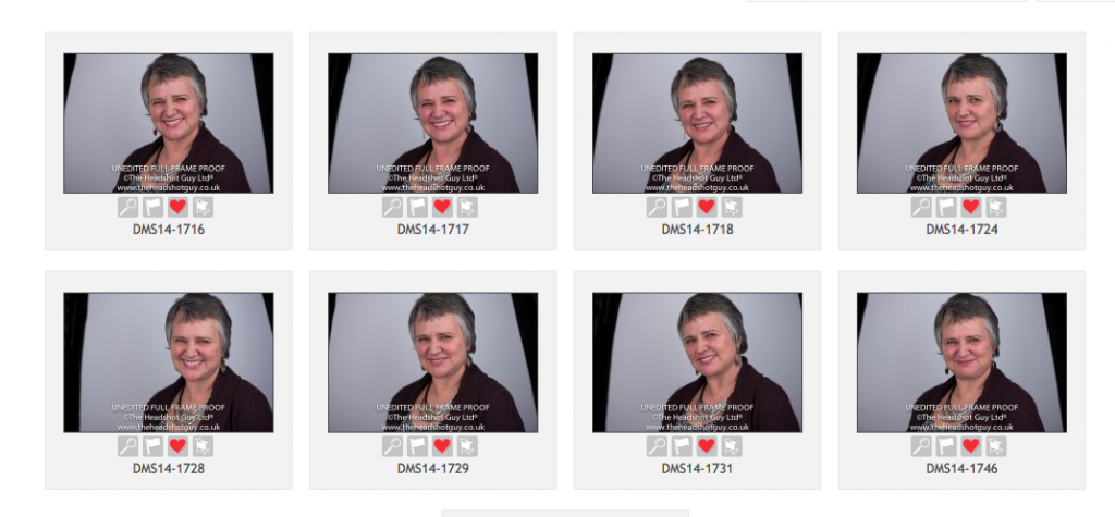 The Headshot Guy proofs of Vivienne Neale