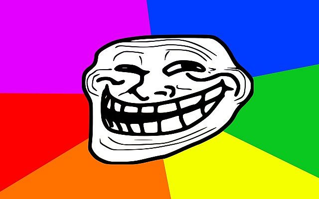 what is trolling, troll face