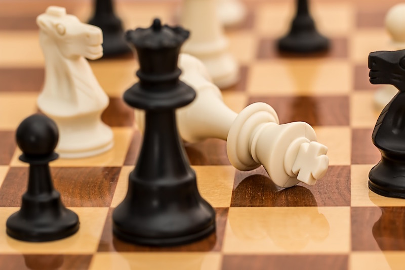 competitive advantage, chess board