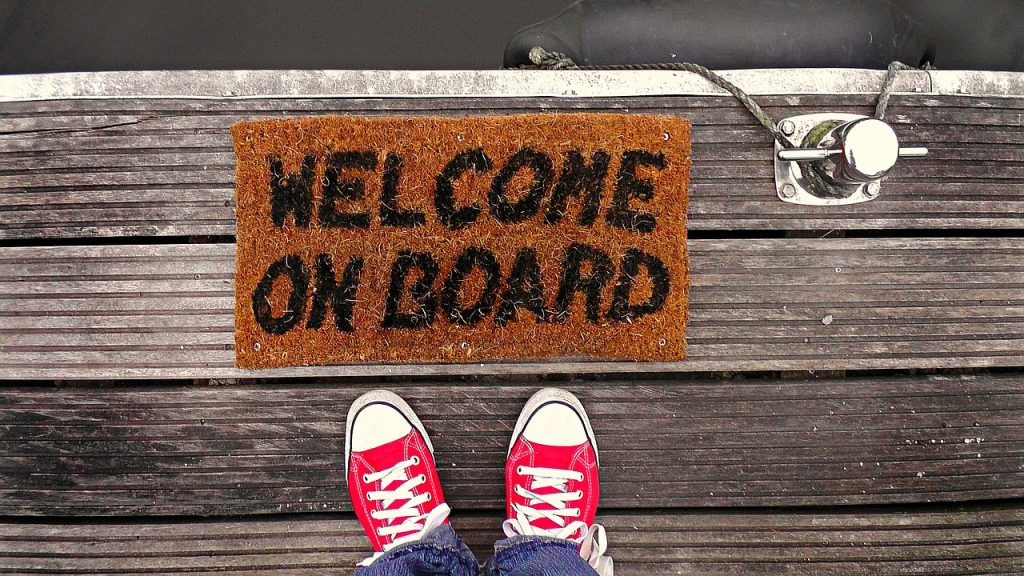 Creating a Content Strategy: Like putting out the welcome mat for new visitors.