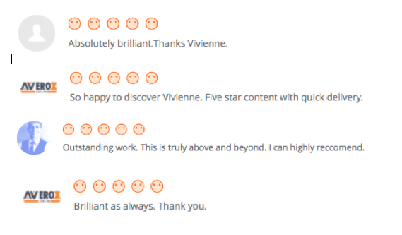 Our Customer's Recent Reviews