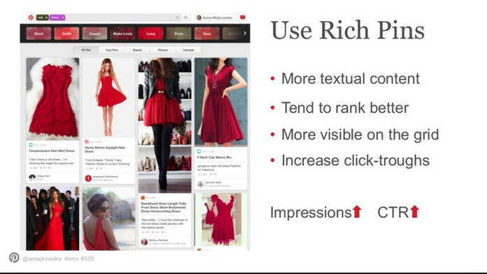 Pinterest Rich pins - use them now!