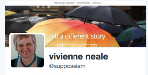 Follow Vivienne Neale on Twitter