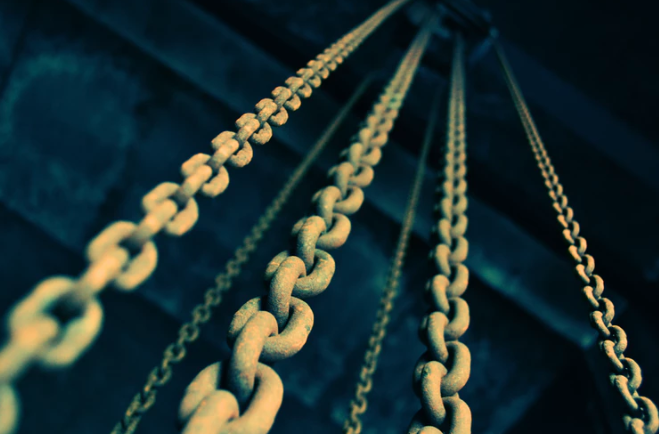 chain links gold colour - avoid broken links on your content